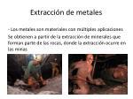 extracci n de metales
