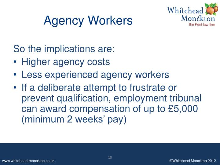 Agency Workers