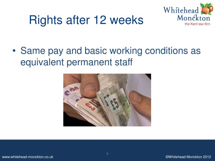 Rights after 12 weeks