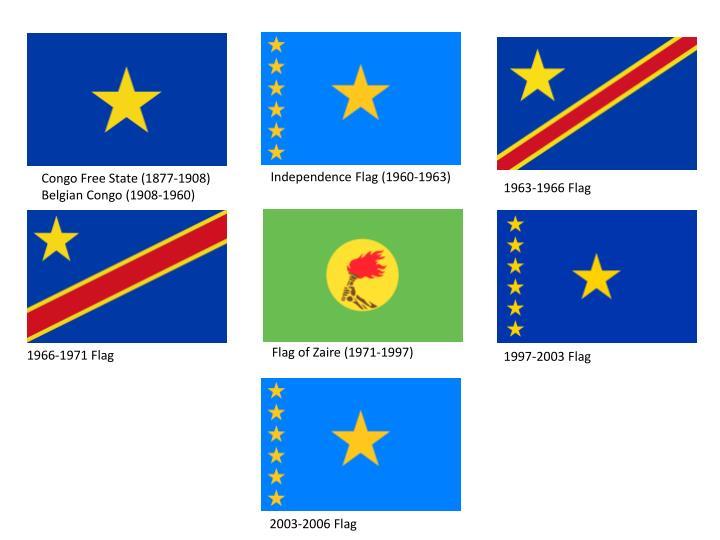 Independence Flag (1960-1963)