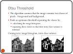 otsu threshold