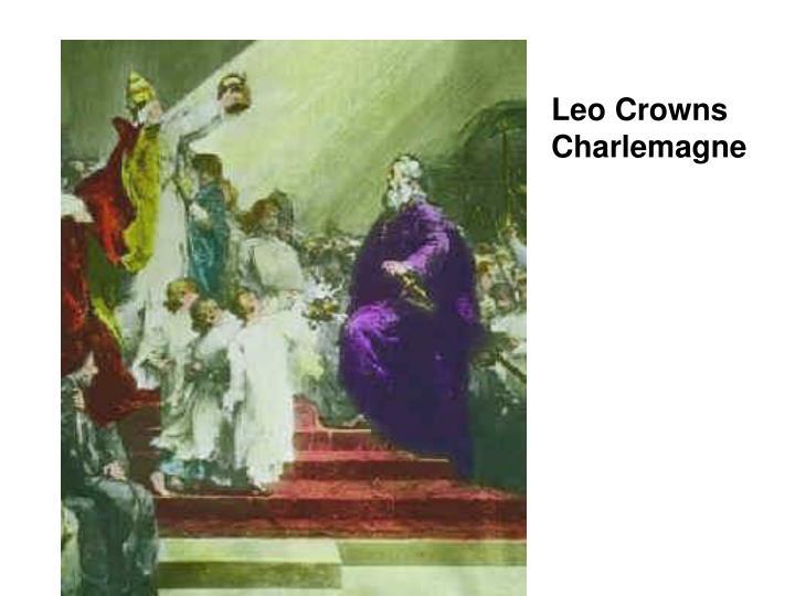 Leo Crowns Charlemagne