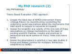 my phd research 2