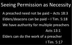 seeing permission as necessity