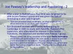 joe pawsey s leadership and mentoring 2