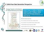 2 calval from data generation perspective