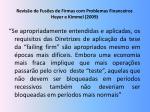 revis o de fus es de firmas com problemas financeiros heyer e kimmel 2009