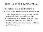 star color and temperature