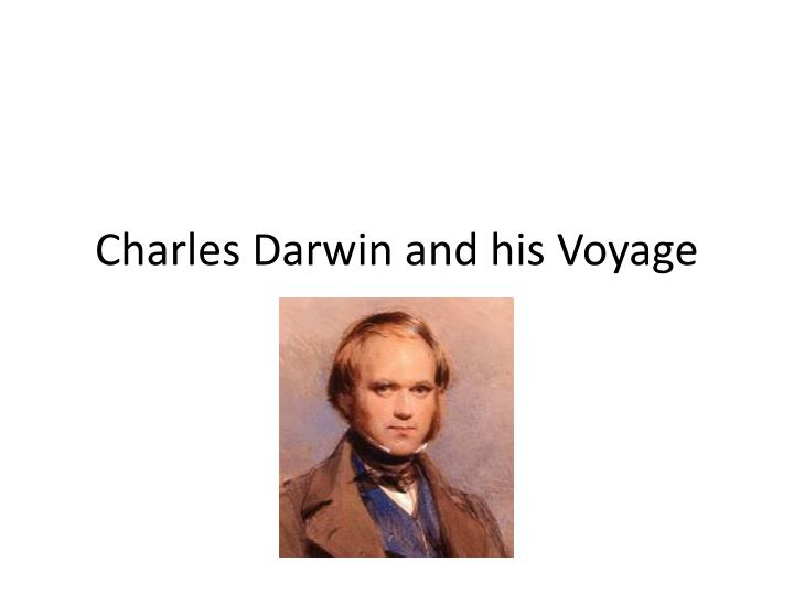 charles darwin and his voyage n.