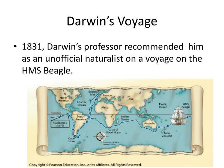 Darwin s voyage