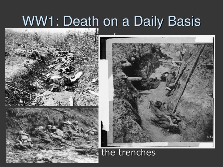 WW1: Death on a Daily Basis