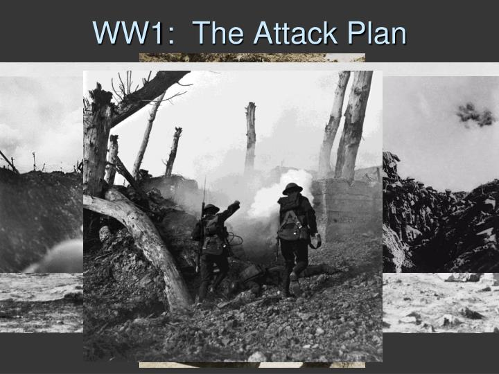 WW1:  The Attack Plan