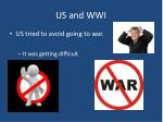 us and wwi