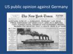 us public opinion against germany