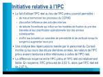 initiative relative l ipc1