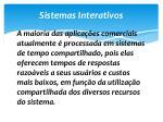 sistemas interativos1