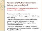 relevance of smiling with structured dialogue recommendation 3