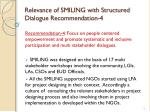 relevance of smiling with structured dialogue recommendation 4