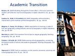 academic transition1