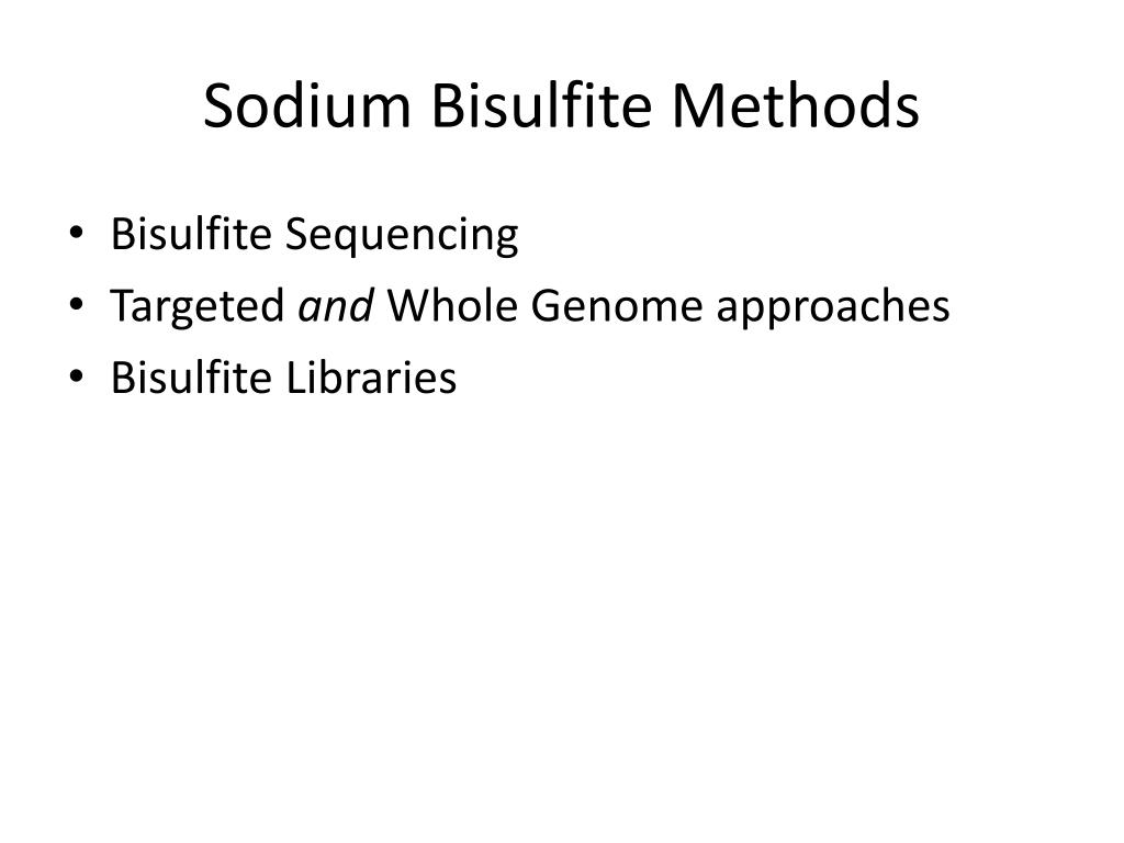 PPT - Genome-Wide DNA Methylation Assays PowerPoint