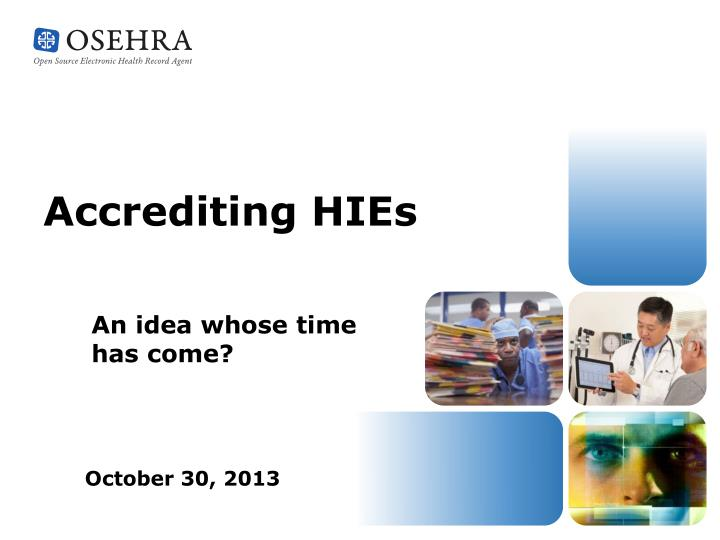 accrediting hies n.