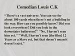 comedian louis c k1