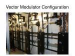 vector modulator configuration