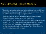 16 5 ordered choice models