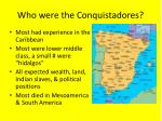 who were the conquistadores