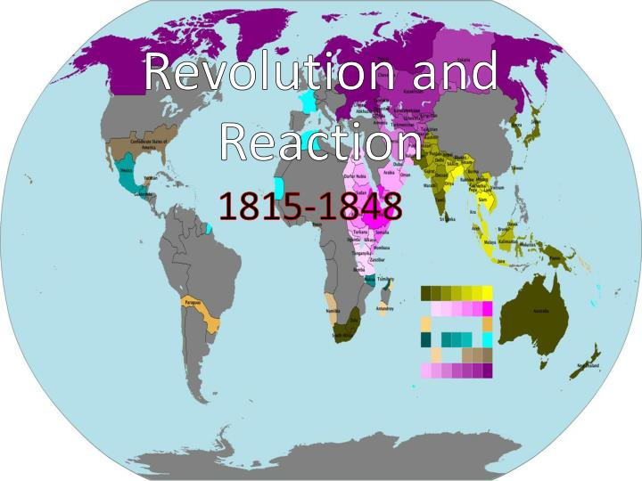 revolution and reaction n.