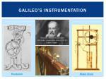 galileo s instrumentation