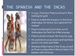 the spanish and the incas
