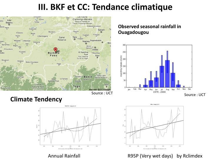III. BKF et CC: