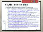 sources d information1