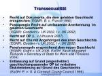 transsexualit t