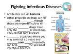 fighting infectious diseases1