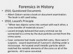 forensics in history6