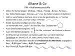 alkane co kw kohlenwasserstoffe