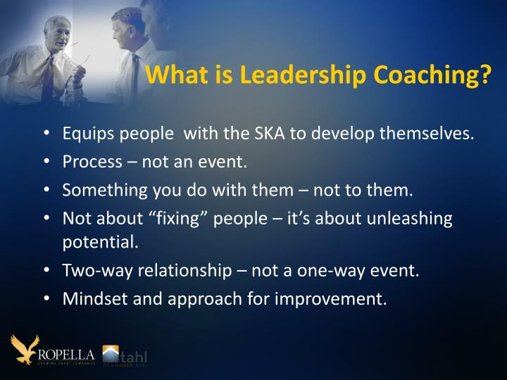 What is Leadership Coaching?