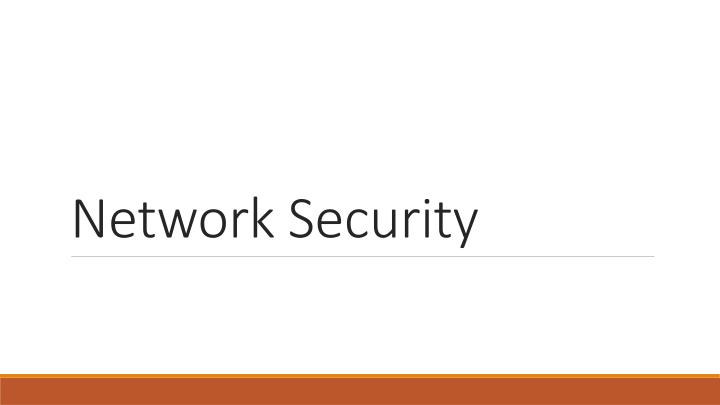 network security n.