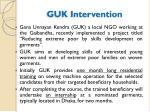 guk intervention