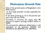 motivation growth pole