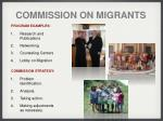 commission on migrants
