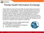 florida health information exchange