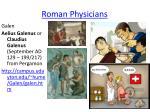 roman physicians