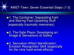 amst teen seven essential steps 1 3