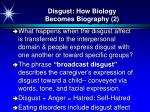 disgust how biology becomes biography 2