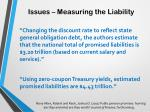 issues measuring the liability3