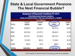 state local government pensions the next financial bubble1