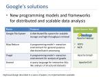 google s solutions